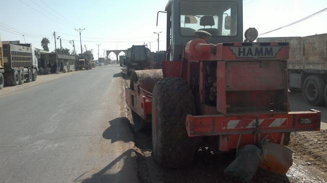 بلدية رفح تشرع في توسعة طريق صلاح الدين الإقليمي