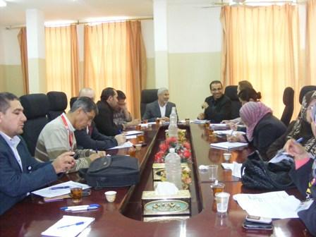 رئيس بلدية رفح يلتقي وفداً من المنظمات الدولية الإنسانية