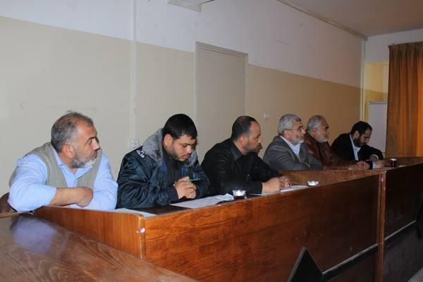 بلدية رفح تنظم ورشة عمل لمناقشة الخطة المرورية الجديدة