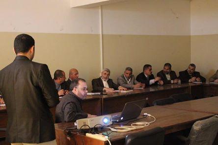 بلدية رفح تعتمد النظام الإلكتروني في المراسلات الداخلية