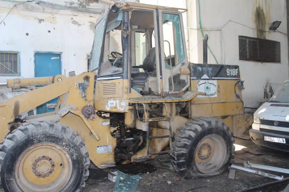 طائرات الاحتلال تستهدف ورشة بلدية رفح بصاروخين
