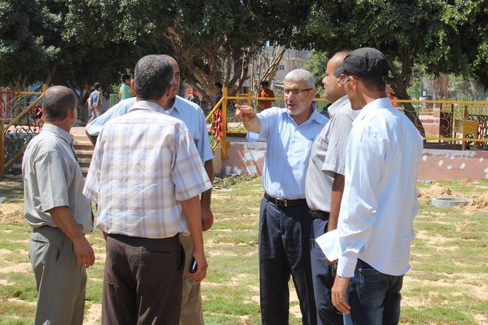 بلدية رفح تدعو المواطنين إلى الحفاظ على المرافق العامة