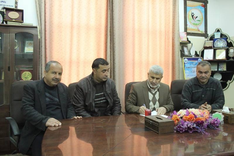 بلدية رفح توقع اتفاق تطوير مركز قلم الجمهور