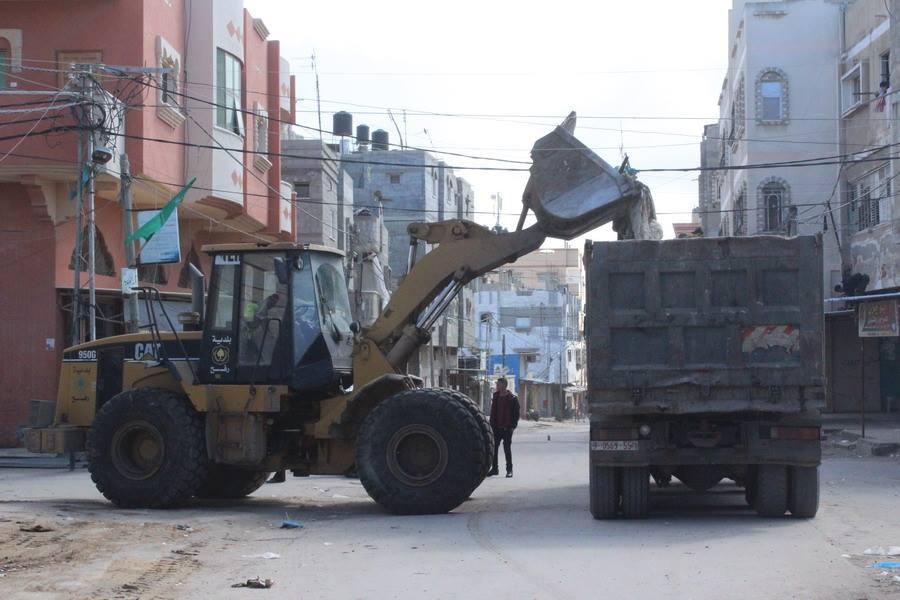 بدء أعمال تطوير شارع صلاح الدين الداخلي