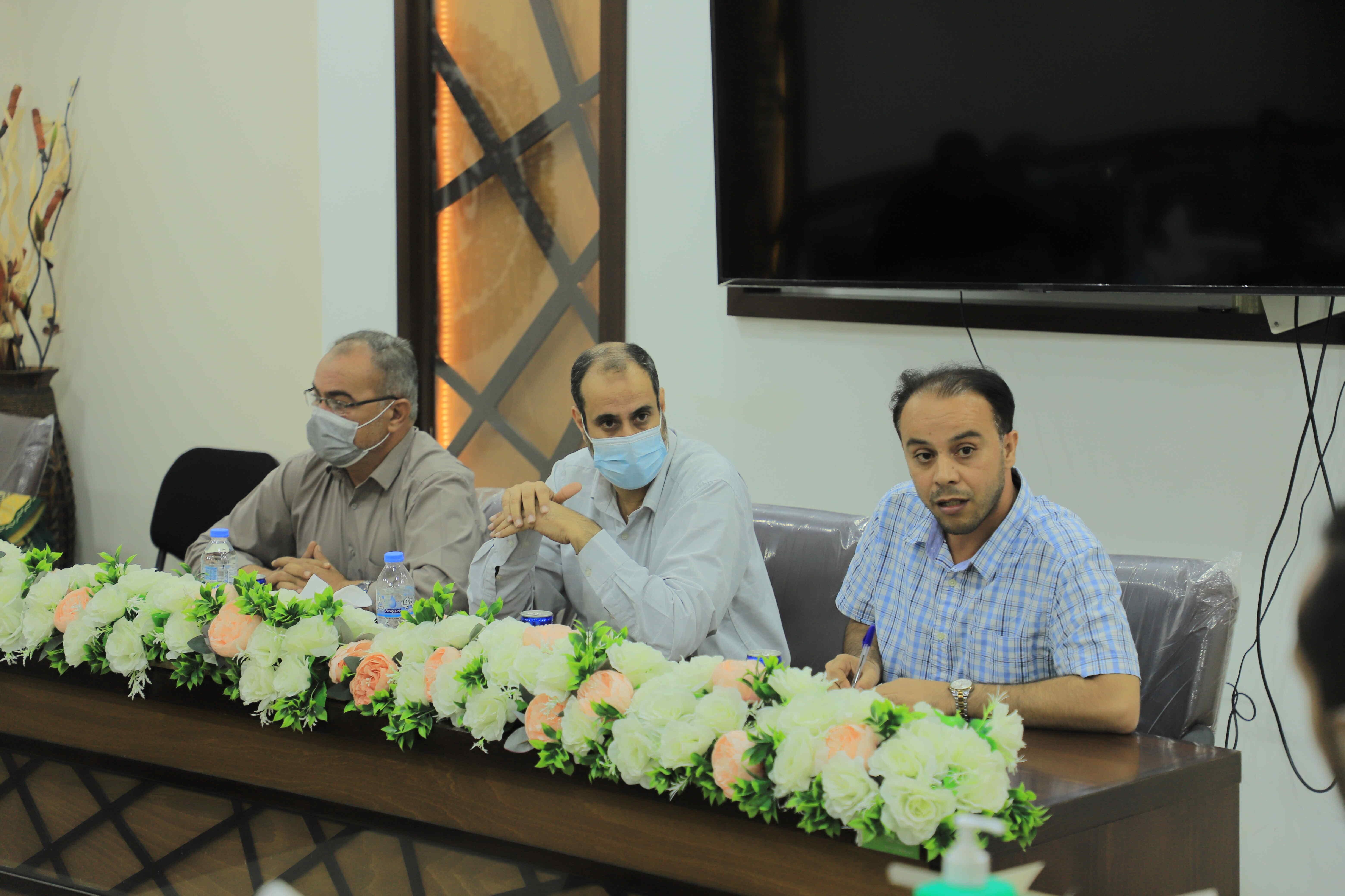 بلدية رفح تعقد لقاءً تشاركيًّا لتعزيز المشاركة والتواصل المجتمعي